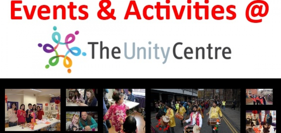 Events and Activities at The Unity Centre