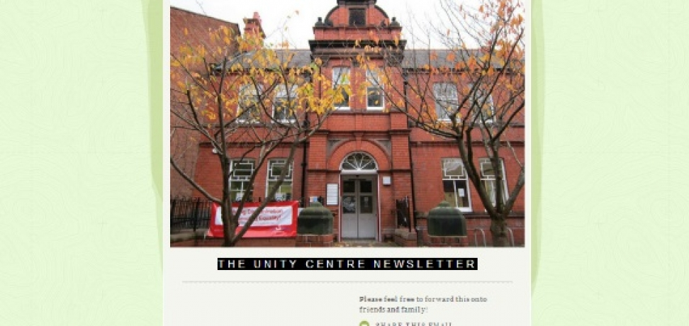 The Unity Centre Newsletter