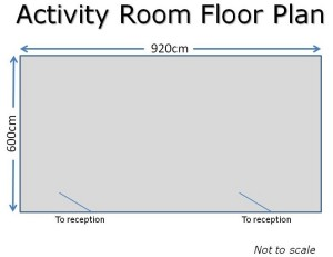 Activity Room Floor Plan