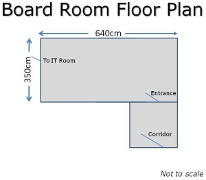 Board Room Floor Plan