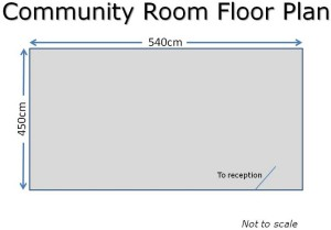 Community Room Floor Plan