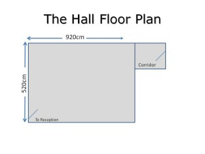 Floor Plan The Hall